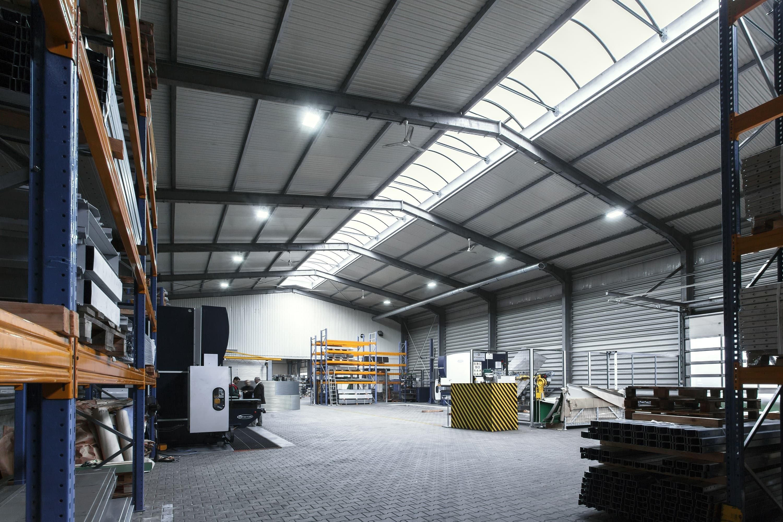 Oprawy przemysłowe Highbay w firmie Riela - Luxon LED