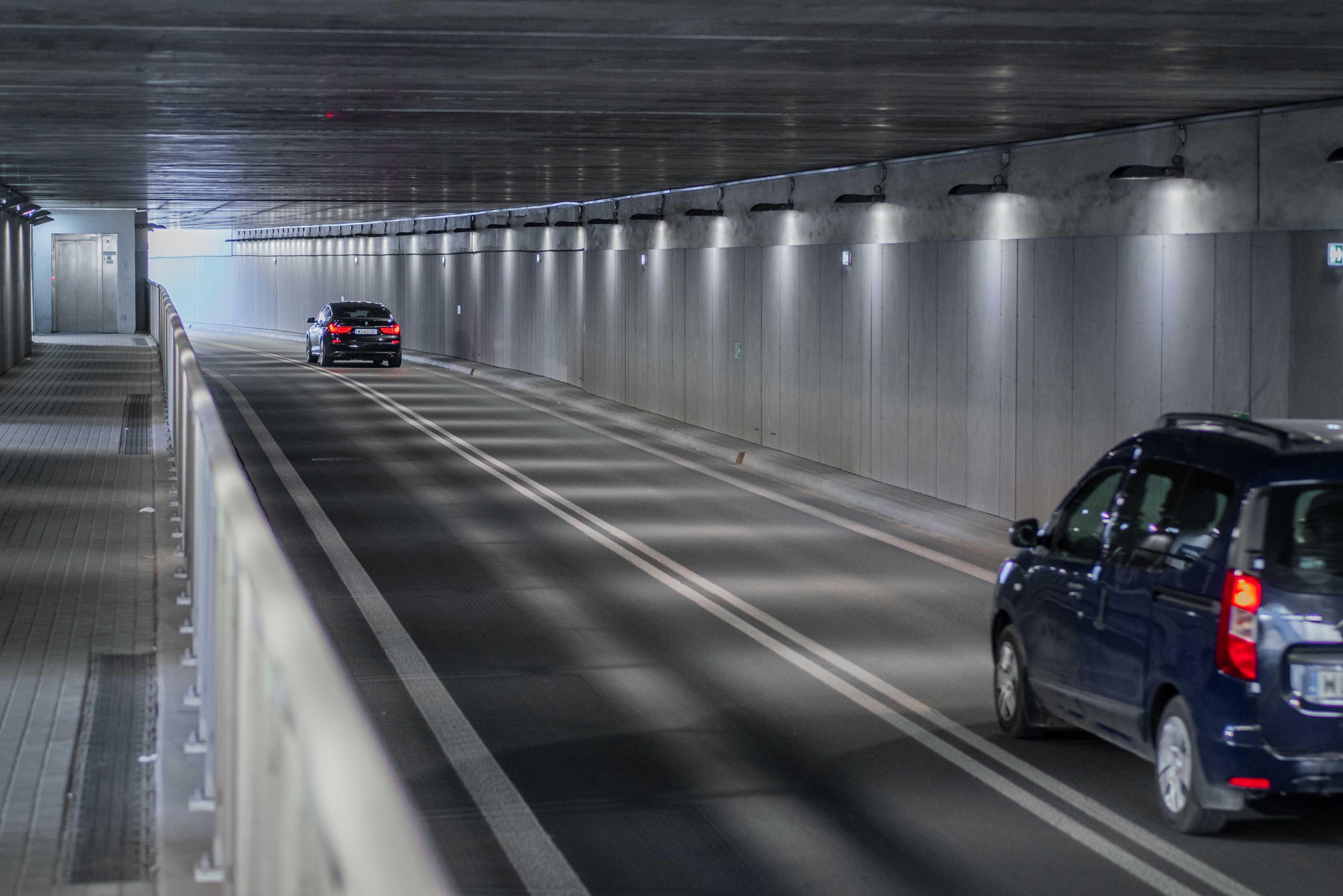 Komplexe Ausführung des Projekts für Tunnel und Außenbeleuchtung Straße in Siedlce