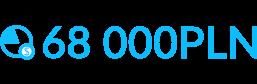 Znaczek oszczędności na inwestycji w oświeltenie 68000 PLN - Luxon LED