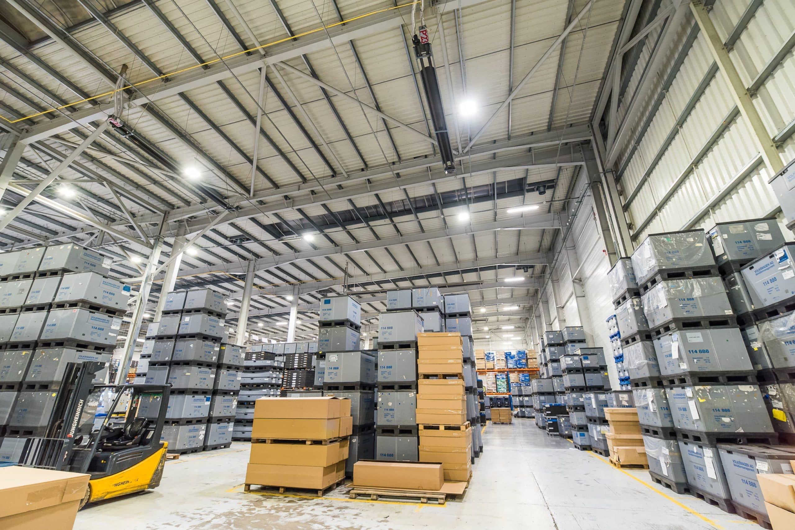 Modernisierung der Beleuchtung