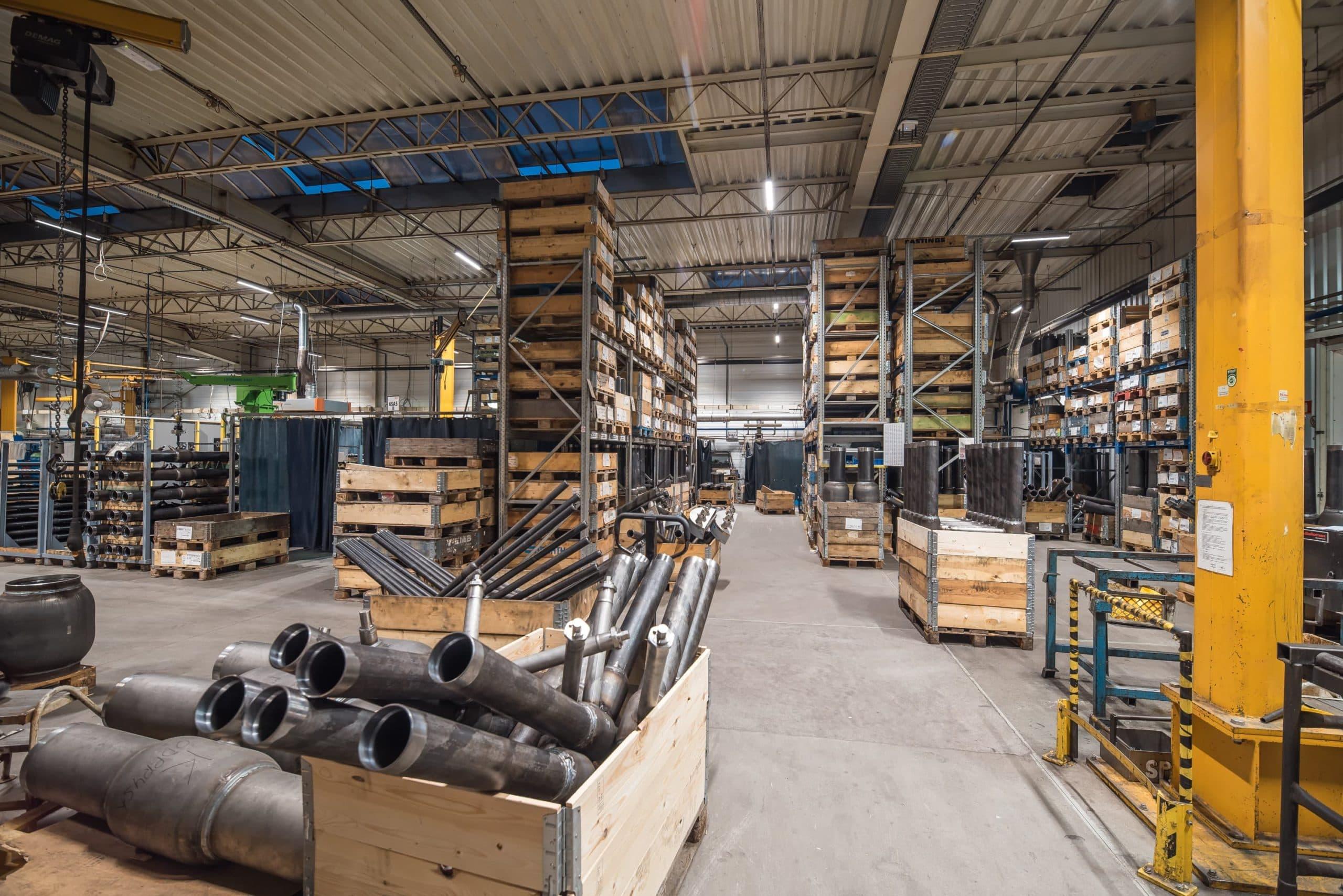 Oprawy przemysłowe Industrial w firmie Broen - Luxon LED