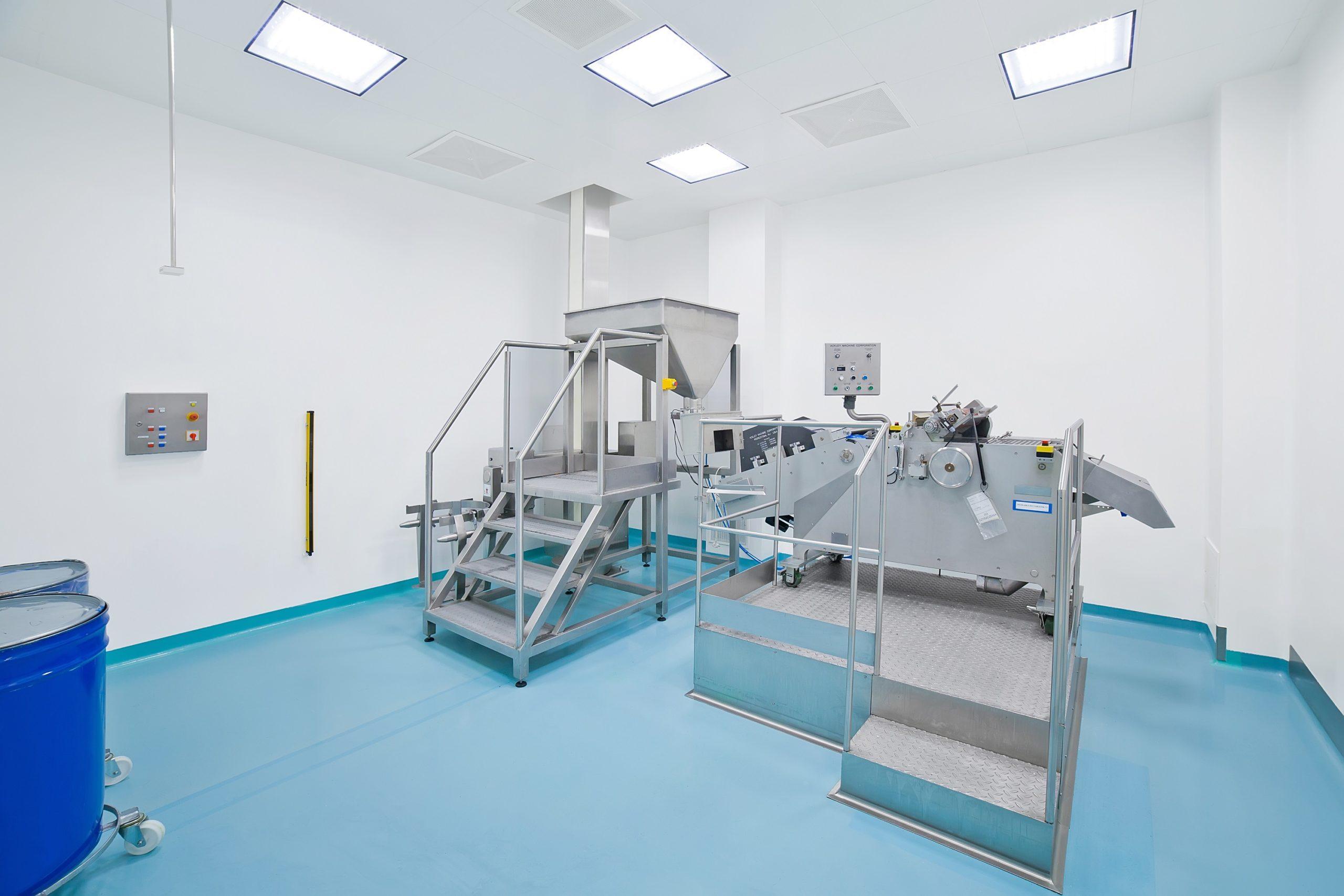 US Pharmacia po modernizacji oświetlenia