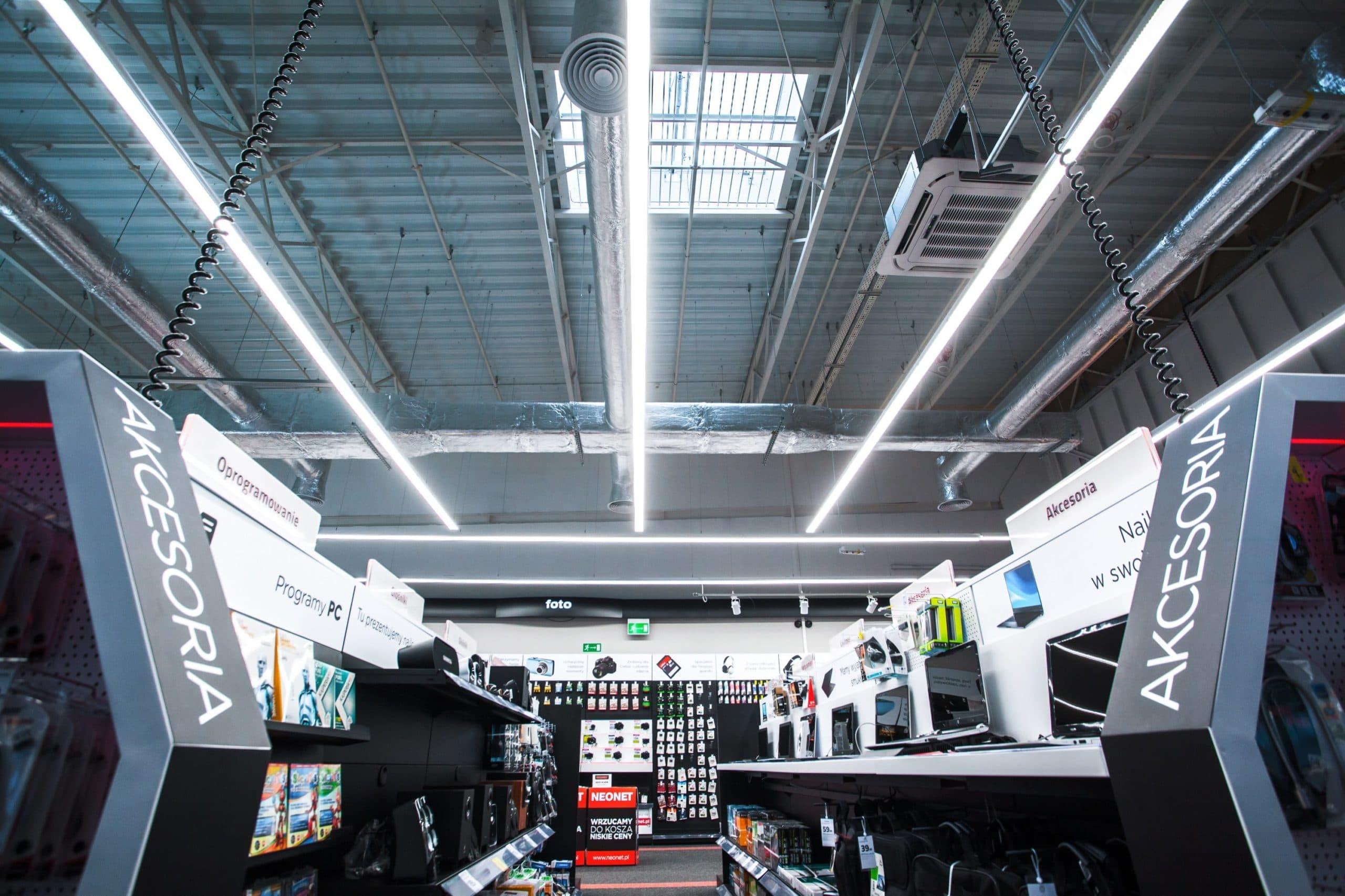 Oprawy liniowe, handlowe Lumiline w sklepie Neonet - Luxon LED