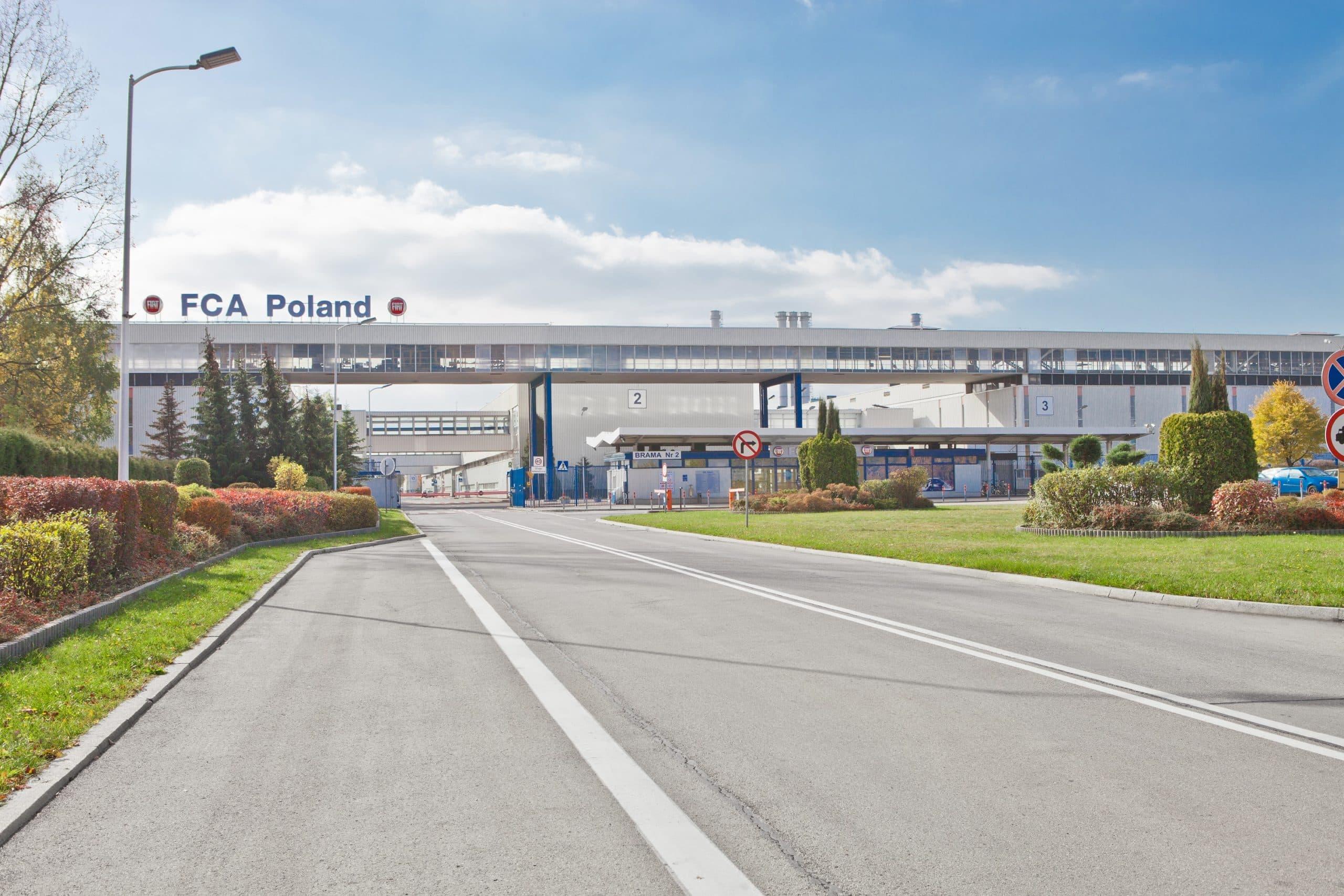 Zmodernizowany zakład produkcyjny firmy Fiat - Luxon LED