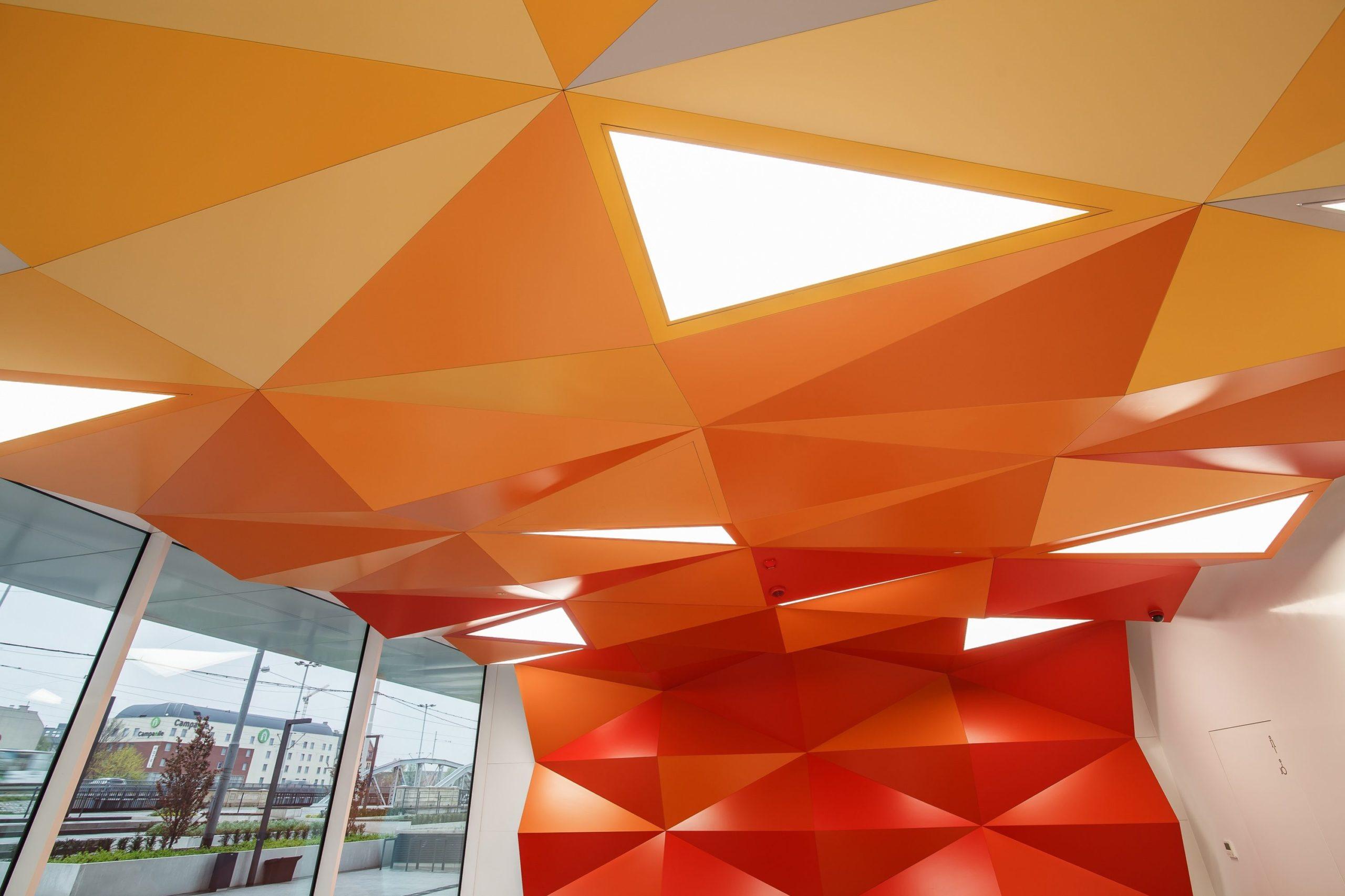 Niestandardowe oprawy biurowe led przy Dubois 41 w firmie 3M - Luxon LED