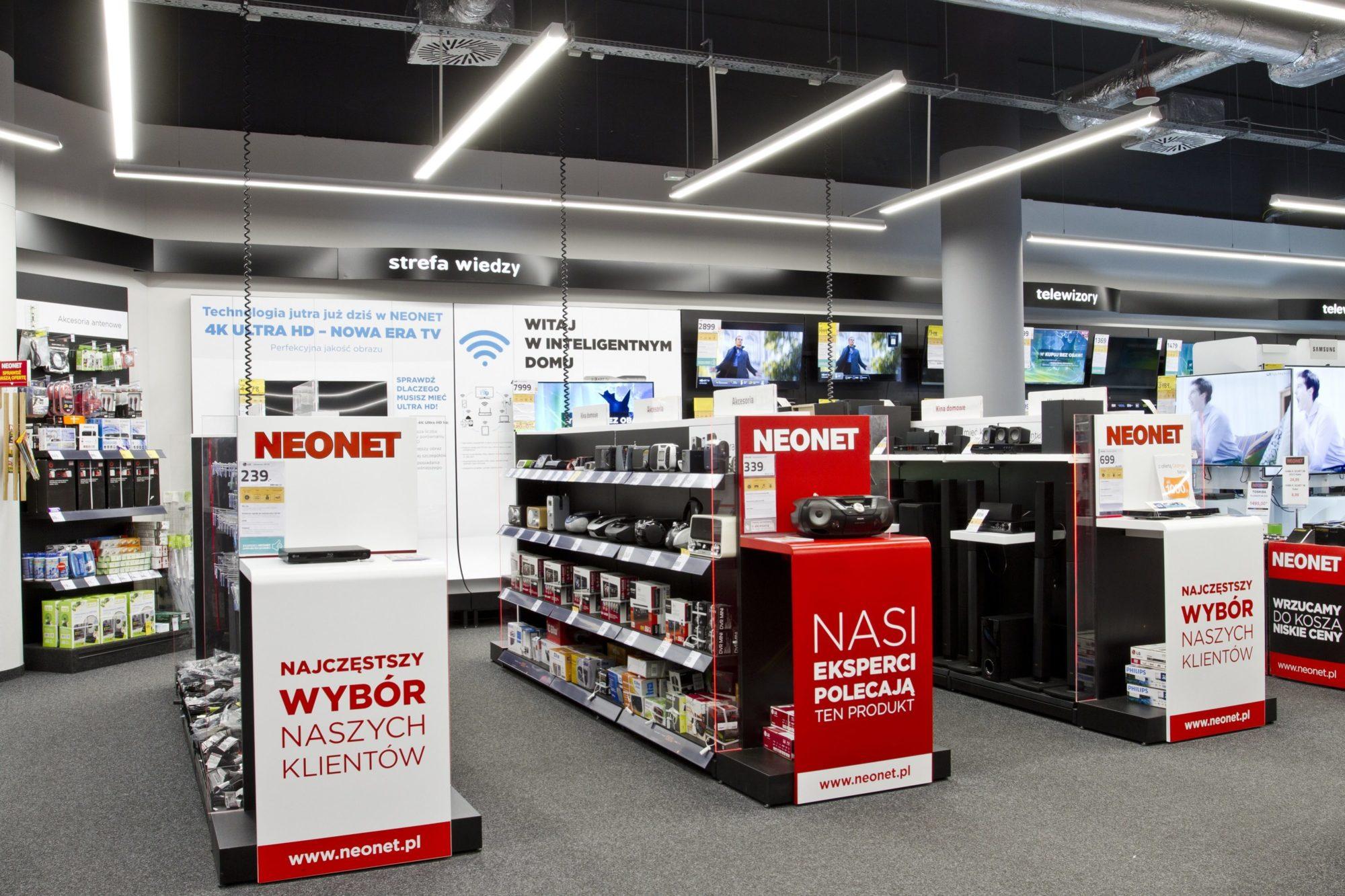 część sprzOprawy handlowe Lumline w Neonecie - Luxon LEDedażowa sklepu Neonet