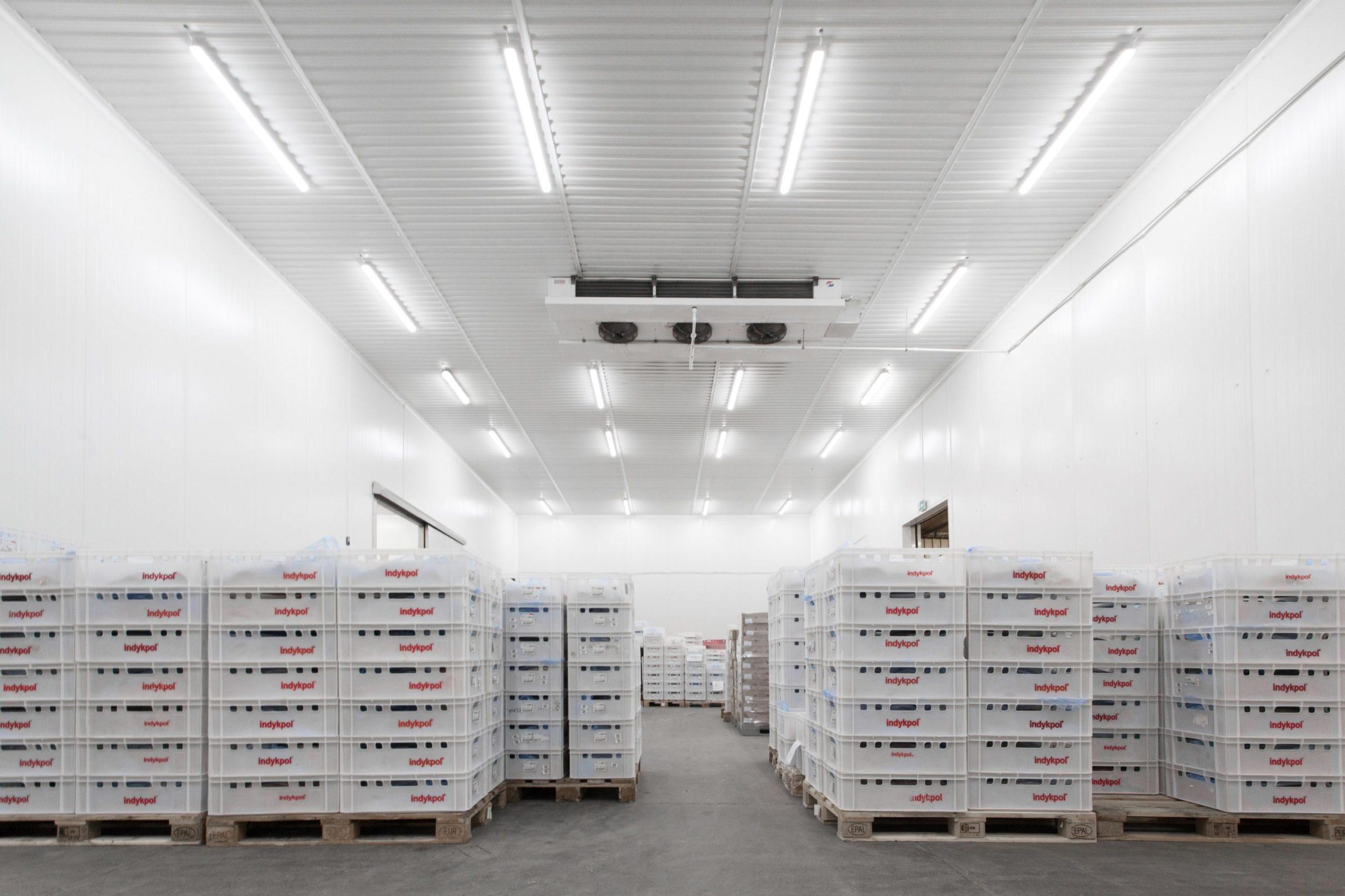 Leuchten für Lebensmittelindustrie