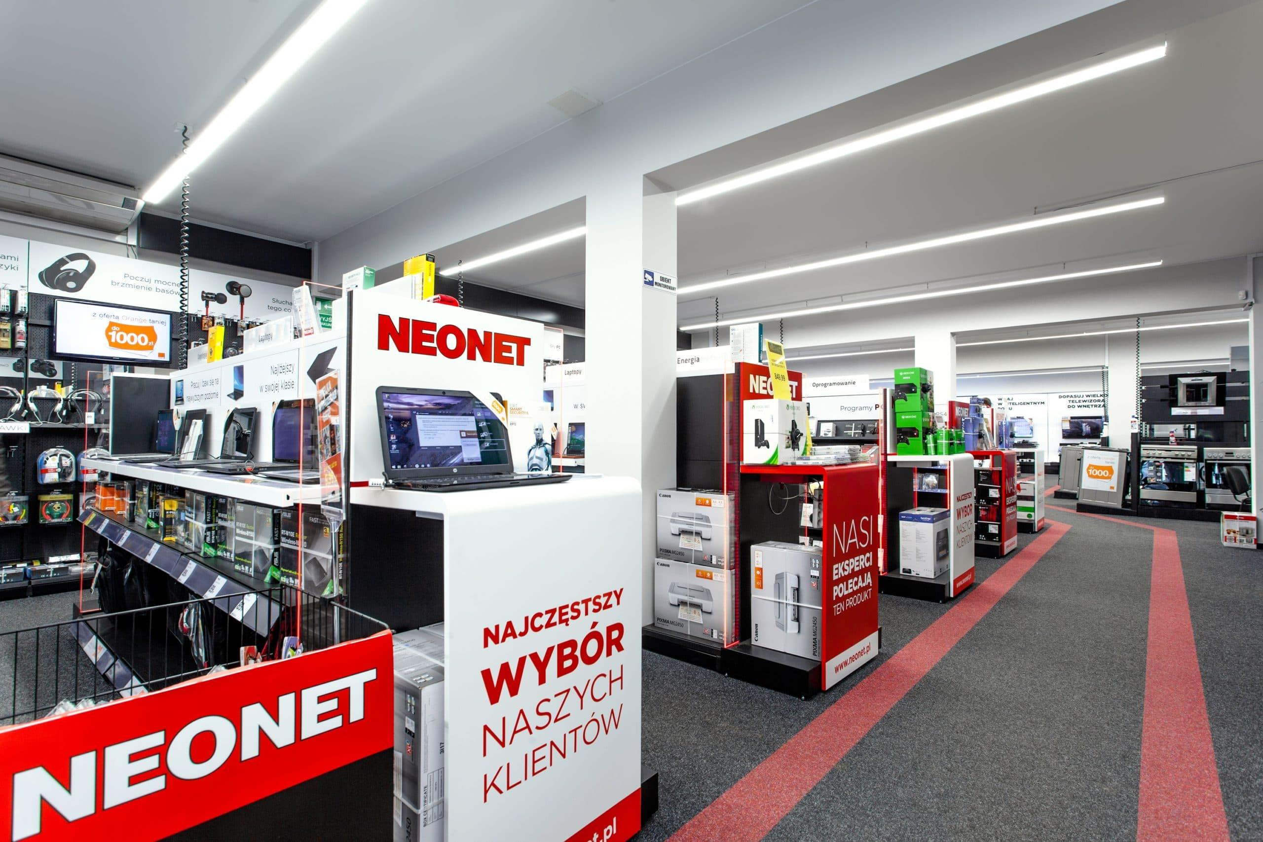 Oprawa Lumiline w sklepie Neonet - oświetlenie handlowe firmy Luxon LED