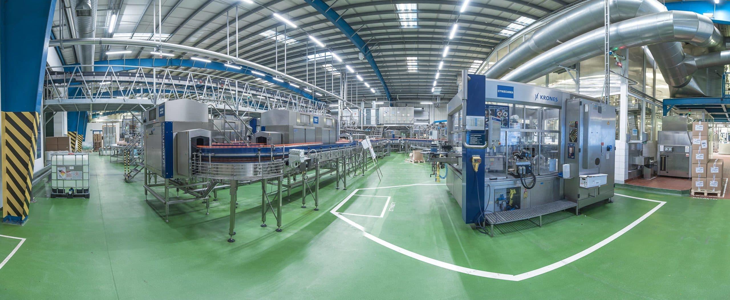 Modernisierung der Beleuchtungsanlagen