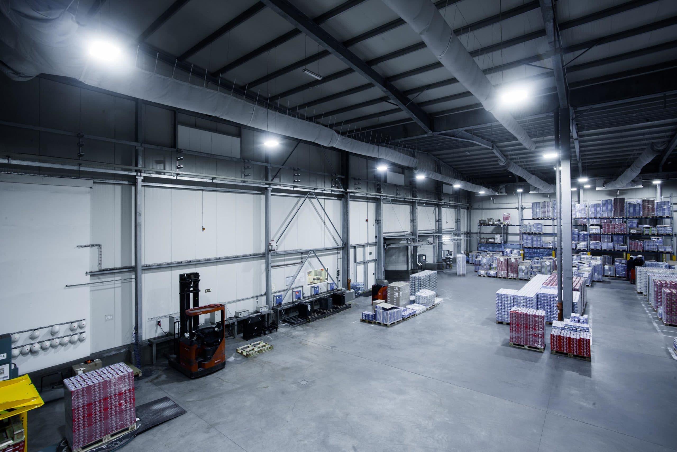 Modernisierung der Beleuchtung für den Joghurt-Hersteller
