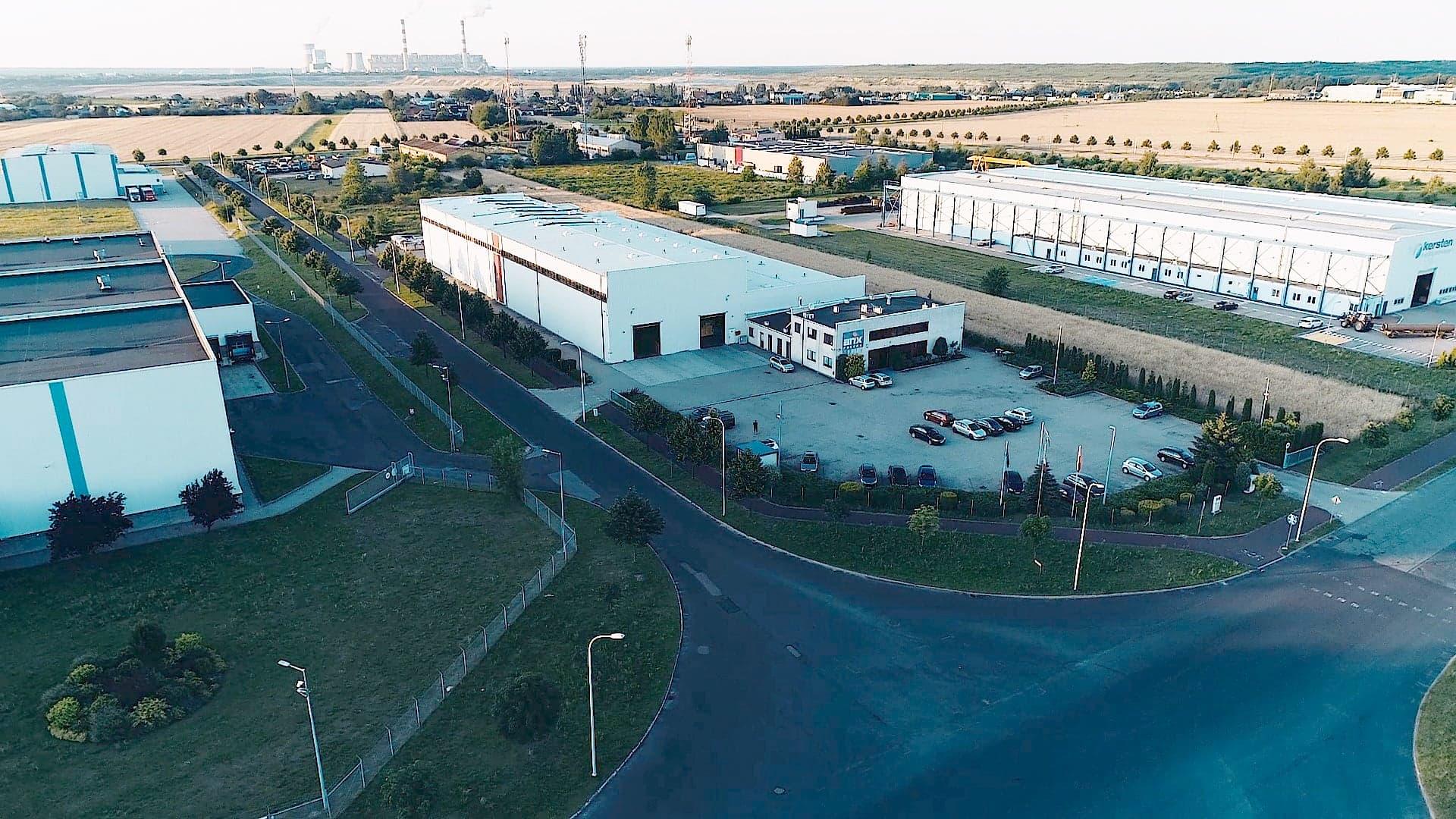 Modernisierung der Beleuchtung in Produktionshallen